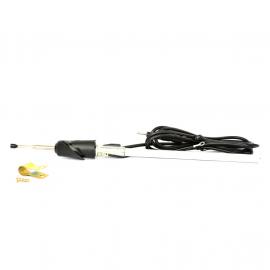 Antena Automotriz Negra con Base y Cable de Salpicadera para Chevy C1 Monza