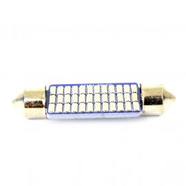 Foco de 2 Polos Tipo Chorizo con Diodos LED de Luz Blanca
