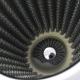 Filtro de Alto Flujo UNIVERSAL Tipo PINO Cromado para Motor