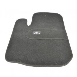 Juego de Tapetes de Alfombra con Hule y Emblema VW JETTA para Jetta A4, A5