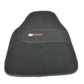 Juego de Tapetes de Alfombra y Hule UIVERSALES con Emblema SEAT