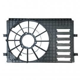 Tolva y Soporte de Motoventilador para Polo 9N3 con Aire Acondicionado