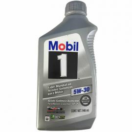 Botella de Aceite MOBIL 1 SAE 5W-30 Sintético para Motores a Gasolina y Diésel