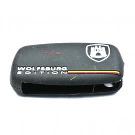 Funda protectora de silicón estilo edición Wolfburg  para llave con control remoto