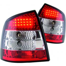 Juego de Calaveras con Luz de Stop LED para Astra Hatchback