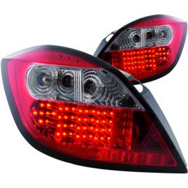 Juego de Calaveras Rojas con Luz de Stop LED para Astra H