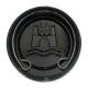 Volante de Dirección Color Negro con Emblema Central WOLFSBURG para VW Sedan 1200