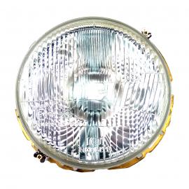 Faro de Cristal Rayado con Socket de Luz de Cuarto para VW Sedan, Combi, Safari, Caribe, Hormiga