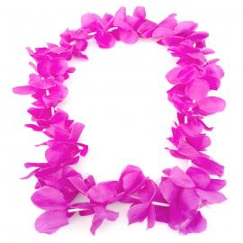 Collar de Folres Color Lila Estilo Hawaii