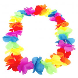 Collar de Folres Multicolor Estilo Hawaii