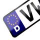 Placa Estilo Europa para Modelos Jetta