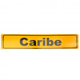 Placa Estilo Europa para Modelos Caribe