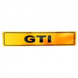 Placa Estilo Europa para Modelos GTI