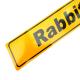 Placa Estilo Europa para Modelos Rabbit