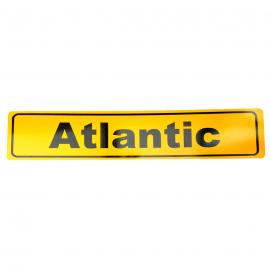 Placa Estilo Europa para Modelos Atlantic