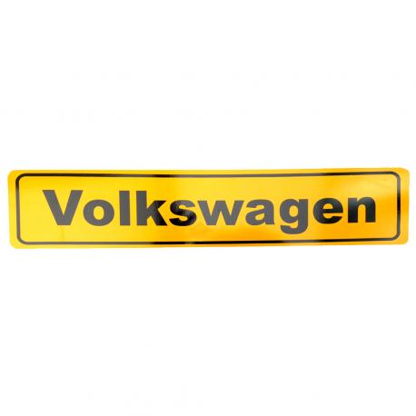 Placa Estilo Europa para Modelos Volkswagen