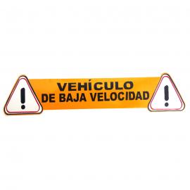 Calcomanía Externa de Vinyl Vehículo de Baja Velocidad