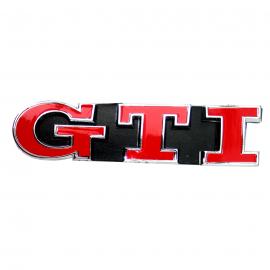 Letrero de Parrilla GTI Rojo para Golf A4, A5