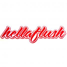 Calcomanía Externa de Vinyl Hellaflush