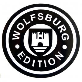 Calcomanía Externa de Vinil con Emblema WOLSBURG EDITION