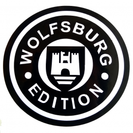 Calcomanía Externa de Vinyl WOLSBURG EDITION