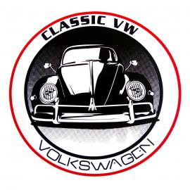 Calcomanía Externa de Vinyl CLASIC VW Volkswagen