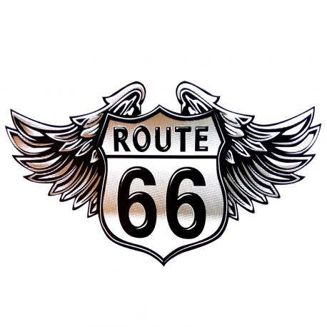 Calcomanía Externa de Vinyl Ruta 66