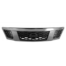 Parrilla sin Emblema Color Gris y Negro FPI para Urvan NV350