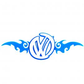 Calcomanía Externa de Vinyl Volkswagen alas