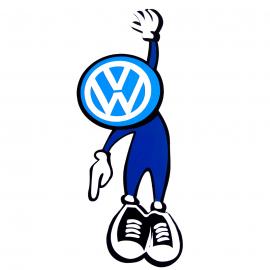 Calcomanía Externa de Vinyl Hombre Volkswagen