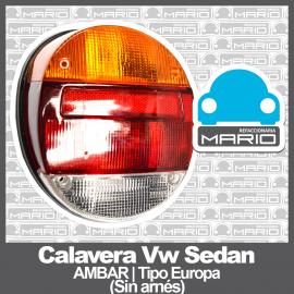 Calavera para VW Sedan 1600, 1600i Tipo Europa (Sin Arnes)