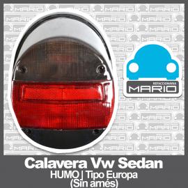 Calavera para VW Sedan 1600, 1600i Ahumada Tipo Europa (Sin Arnés)