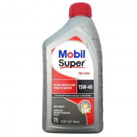 Botella de Aceite de Motor Multigrado Mineral SAE 15W-40 Mobil