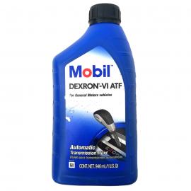Botella de Aceite de Transmisión Automática MOBIL Mineral ATF Dexron VI
