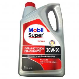 Garrafa de Aceite MOBIL Multigrado Mineral 20W-50 para Motores a Gasolina