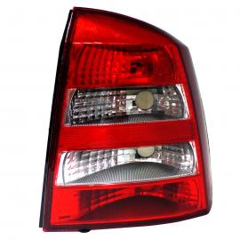Calavera Acrílica con Direccional Blanco Lado Derecho para Astra Hatchback