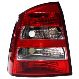 Calavera Acrílica con Direccional Blanco Lado Izquierdo para Astra Hatchback