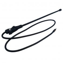 Antena Automotriz Flexible con Base y Cable de Carrocería Tipo Cola de Rata para VW Sedan