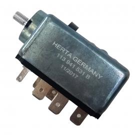 Switch de Luces con Reóstato sin Perilla Bruck para VW Sedan 1500, 1600