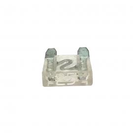 Fusible WURTH Tipo Clavija MINI Transparente de 25 Amperes