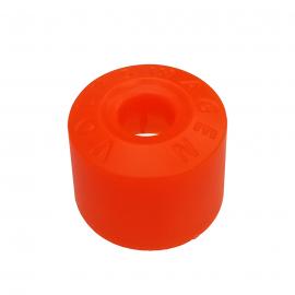 Cubrebirlo Redondo de Seguro de Rueda Color Naranja para Golf A4, Jetta A4, New Beetle, Passat B5, B6, Vento