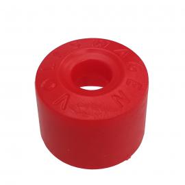 Cubrebirlo Redondo de Seguro de Rueda Color Rojo para Golf A4, Jetta A4, New Beetle, Passat B5, B6, Vento