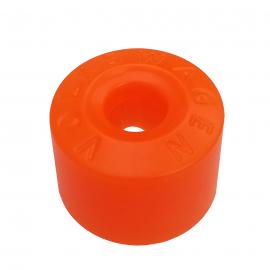 Cubre Birlo de Rueda Hexagonal Color Naranja para Golf A4, Jetta A4, New Beetle, Passat B5, B6