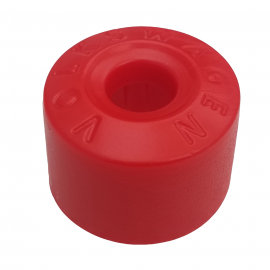 Cubre Birlo de Rueda Hexagonal Color Rojo para Golf A4, Jetta A4, New Beetle, Passat B5, B6
