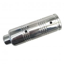 Empuñadura de freno de Mano Cromada con Botón para Golf A2, A3, Jetta A2, A3