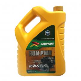Garrafa de Aceite Ti-22 Mineral Multigrado 20W-50 Roshfrans para Motores a Gasolina