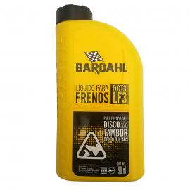 Botella de 900ml de Liquido de Frenos DOT 3 Bardahl