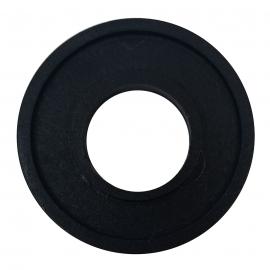 Chapetón Negro de Manija Protectora de Tapa de Puerta para VW Sedán