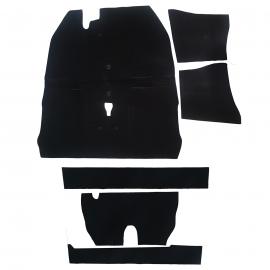 Kit de Alfombra Negro de Piso Interior para VW Sedan