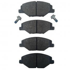 Juego de Balatas de Disco Delanteras ATE para Vento, Toledo Mk4, Polo 1.2 y 1.6